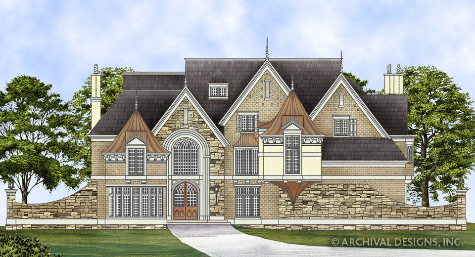 French country home plans luxury