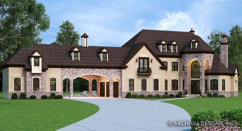Luxury House Plans | Stock Home Plans | Archival Designs, Inc. on