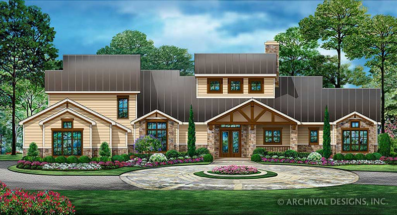 Lake Bonham House Plan