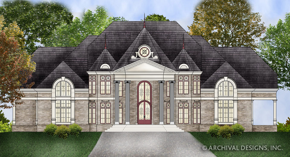 Mansion House Plans Stock Home Plans Archival Designs Inc