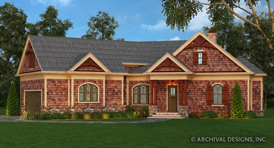 Small House Plan – Archival Designs on