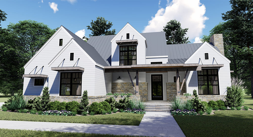 Rolling Wood Hills House Plan