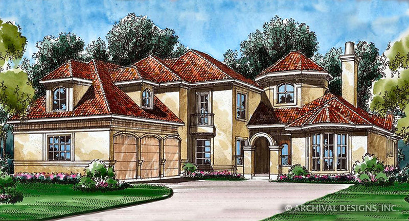 Spanish Bay House Plan