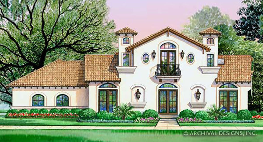 Villa Di Vino Place House Plan