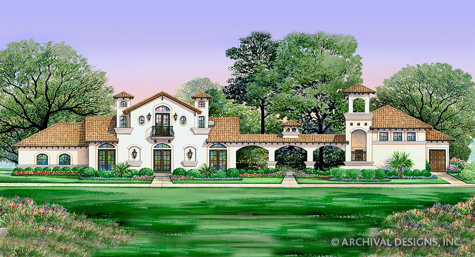 Villa Di Vino House Plan