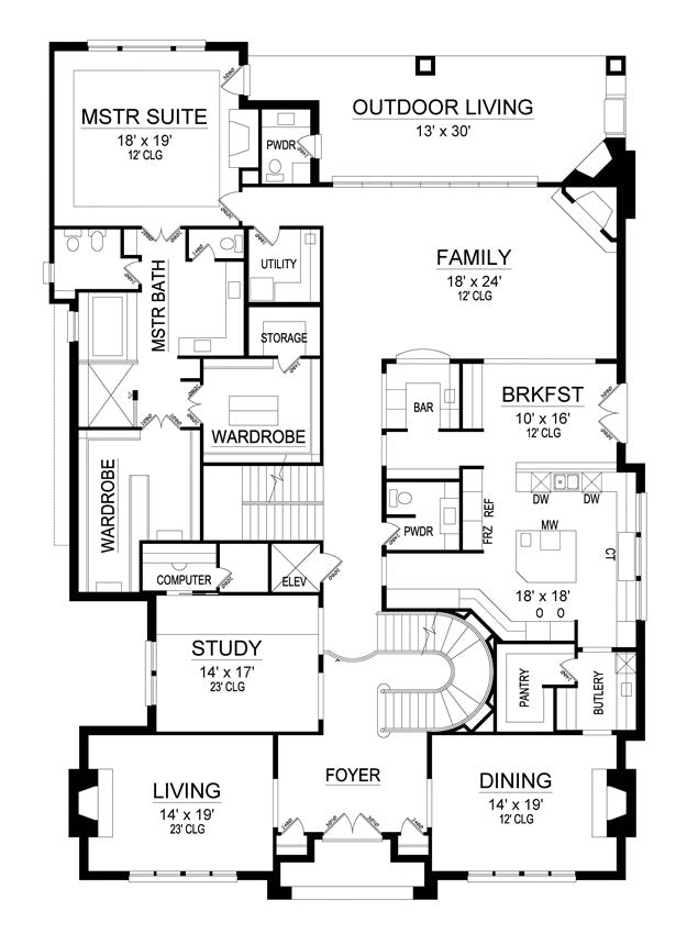 Madison Avenue | First Floor Plan