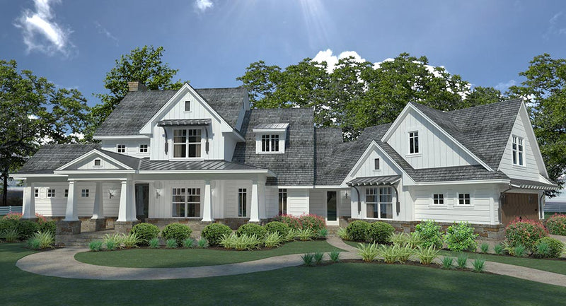 Magnolia Farm House Plan