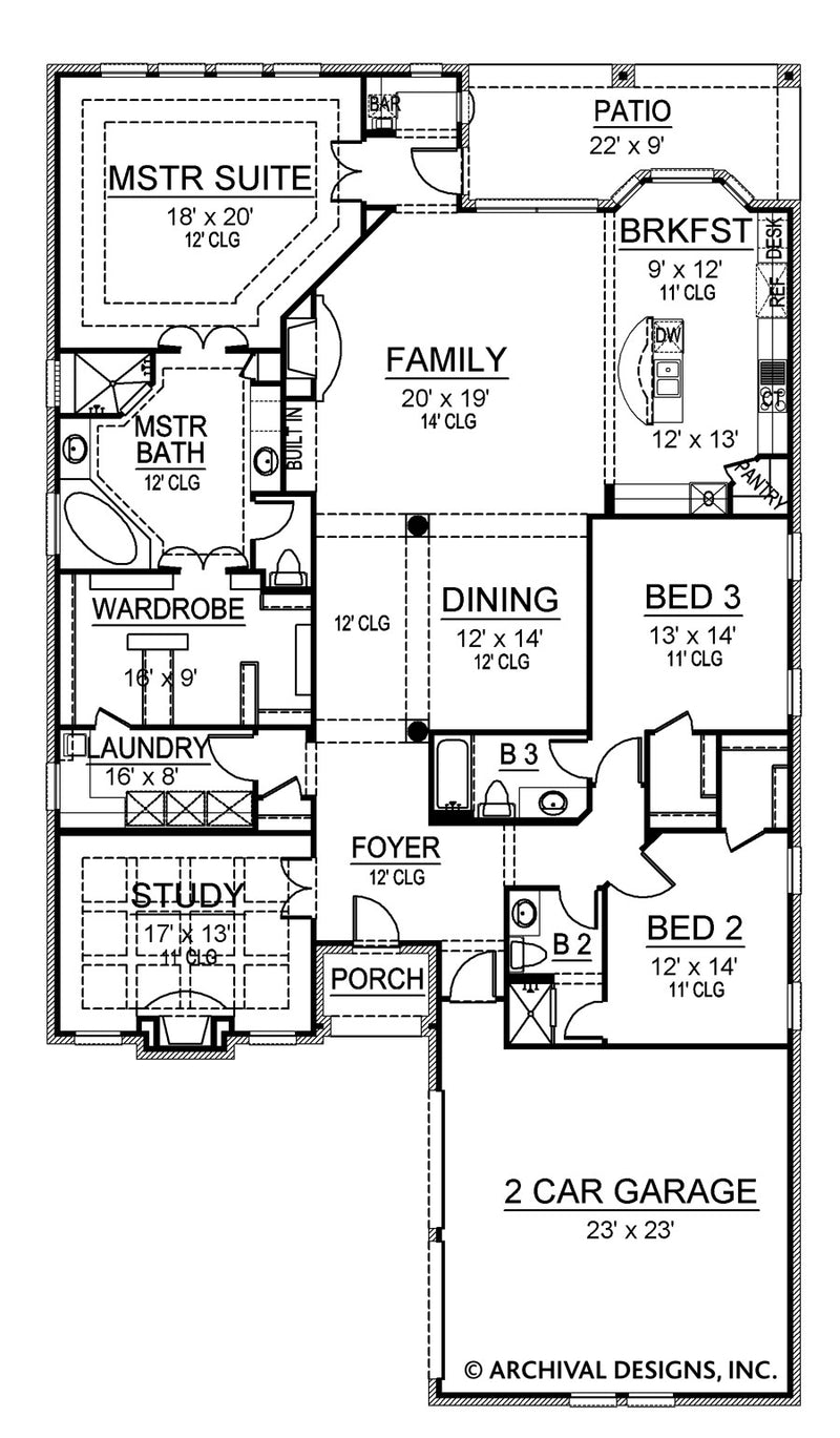 Manchester first floor, floor plan
