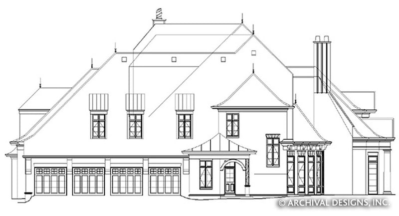 Manderston Estate House Plan