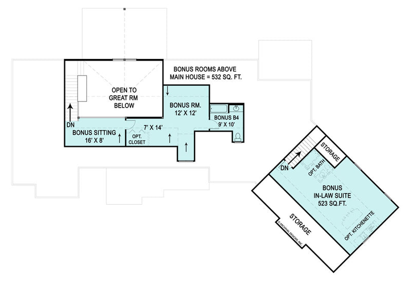 Marymount second floor, floor plan