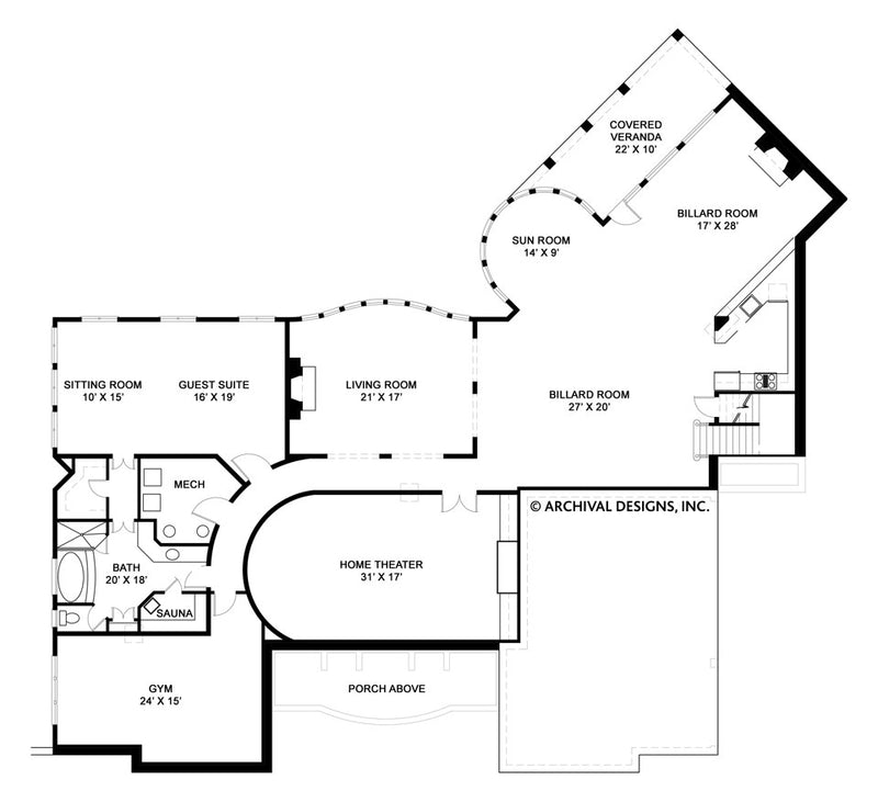 Mayerilla basement floor plan