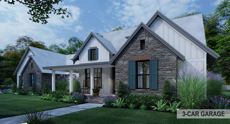 Mill Creek Farm House Plan