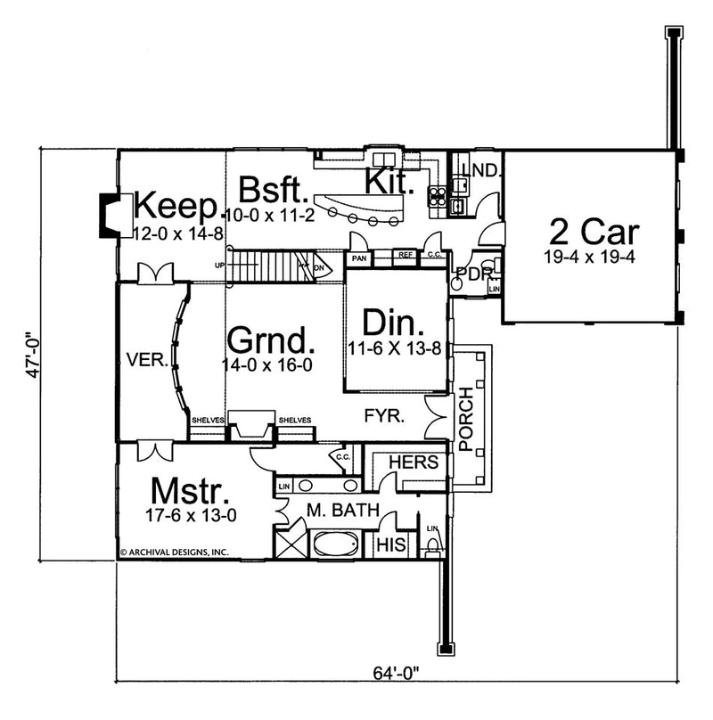 Millington first floor, floor plan