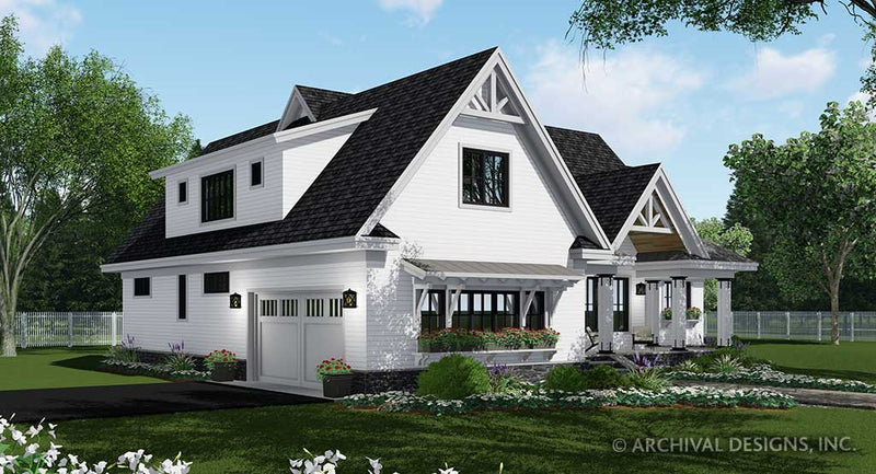 Mistwood Farm House Plan