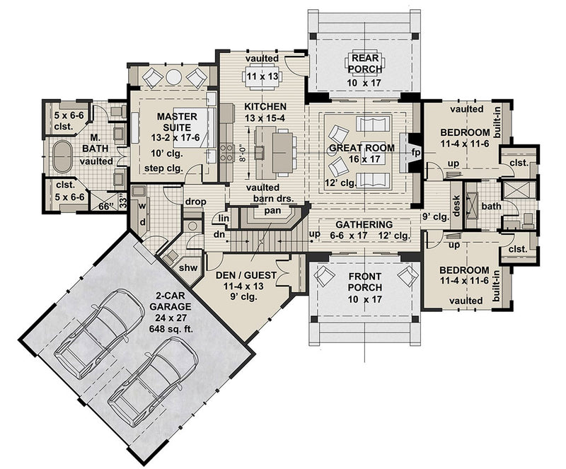 Misty Grove, first floor plan