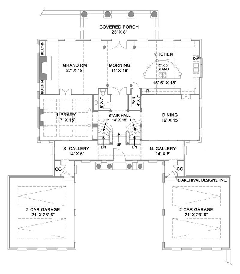 Monclay first floor, floor plan