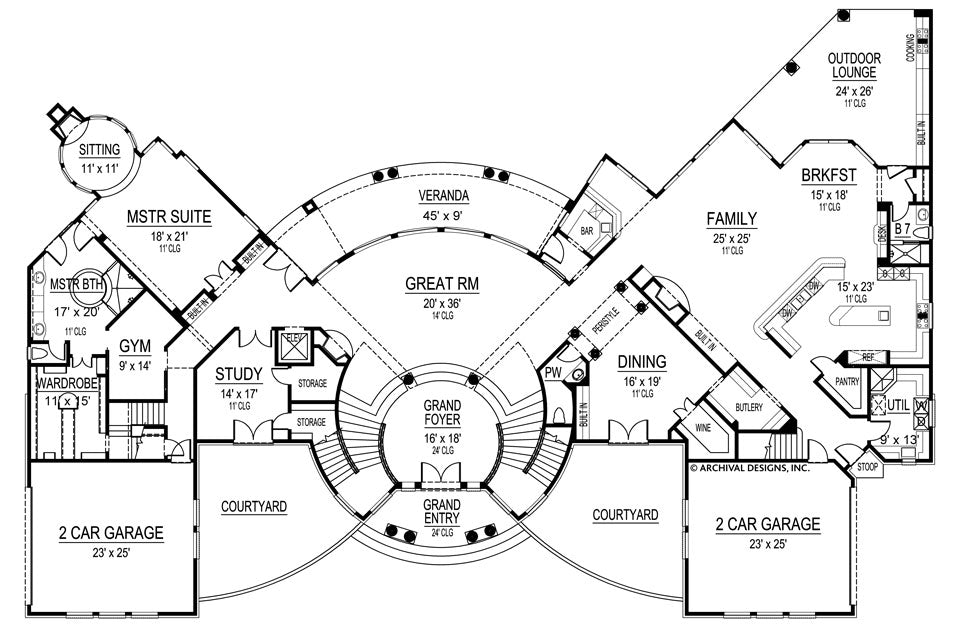 Garage Electrical Outlet Layout