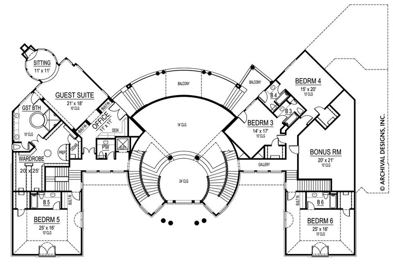 Mumbai second floor floor plan