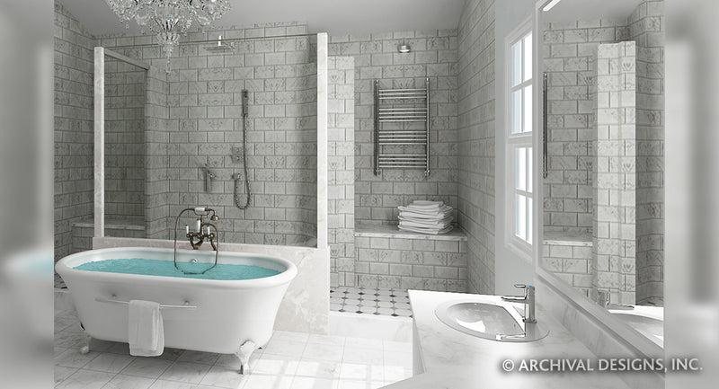 Salem Place House, Master Bathroom