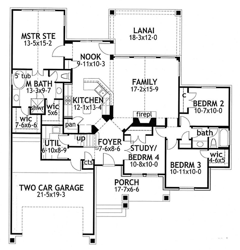 Piccolo Favorevole first floor plan