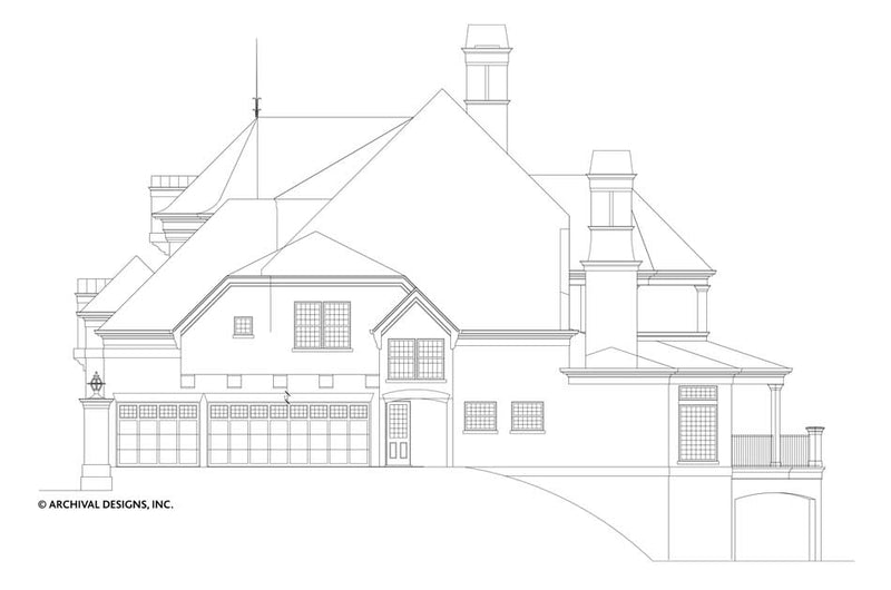 Pontarion II House Plan