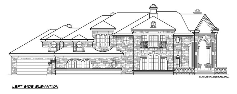Positano House Plan