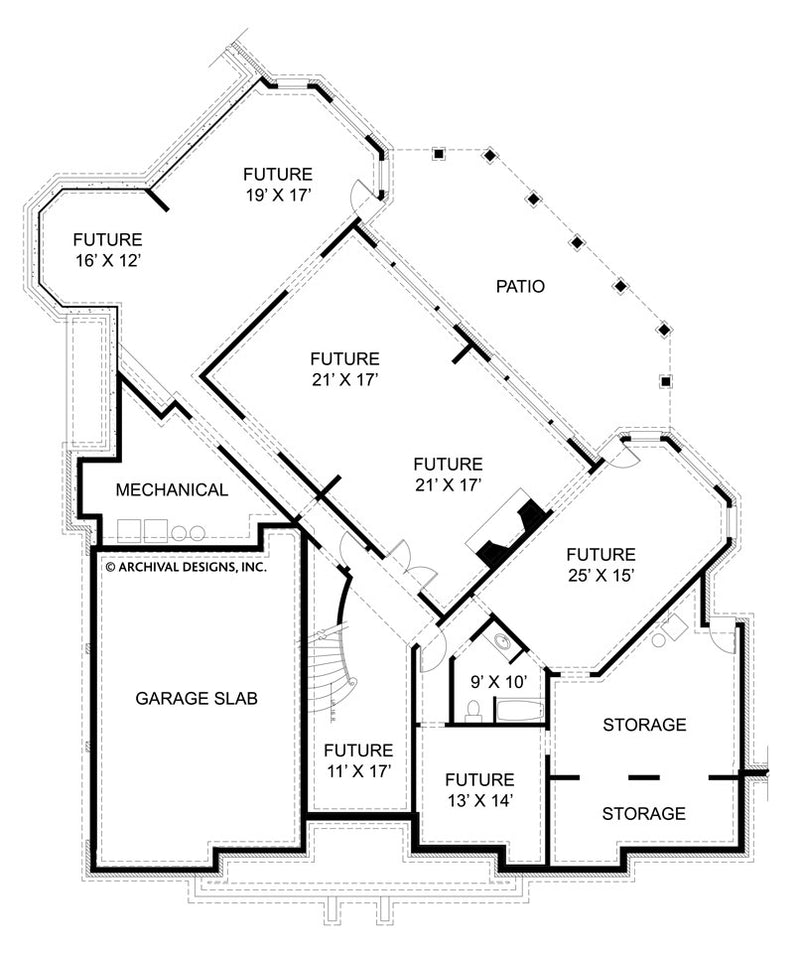 Raewood basement floor plan