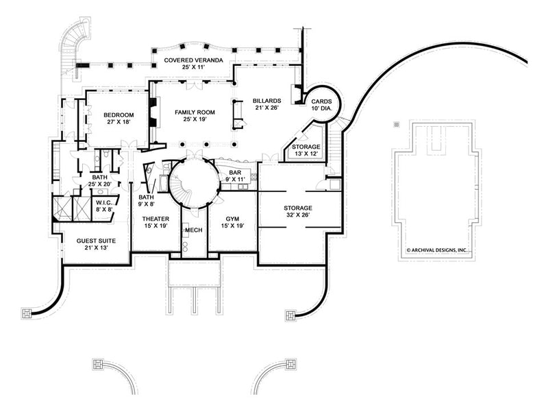 Ramboulett basement floor plan