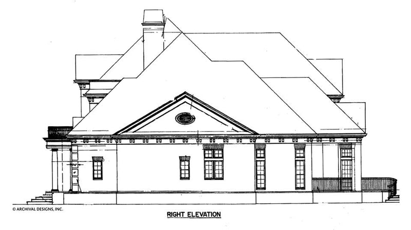 Regency House Plan