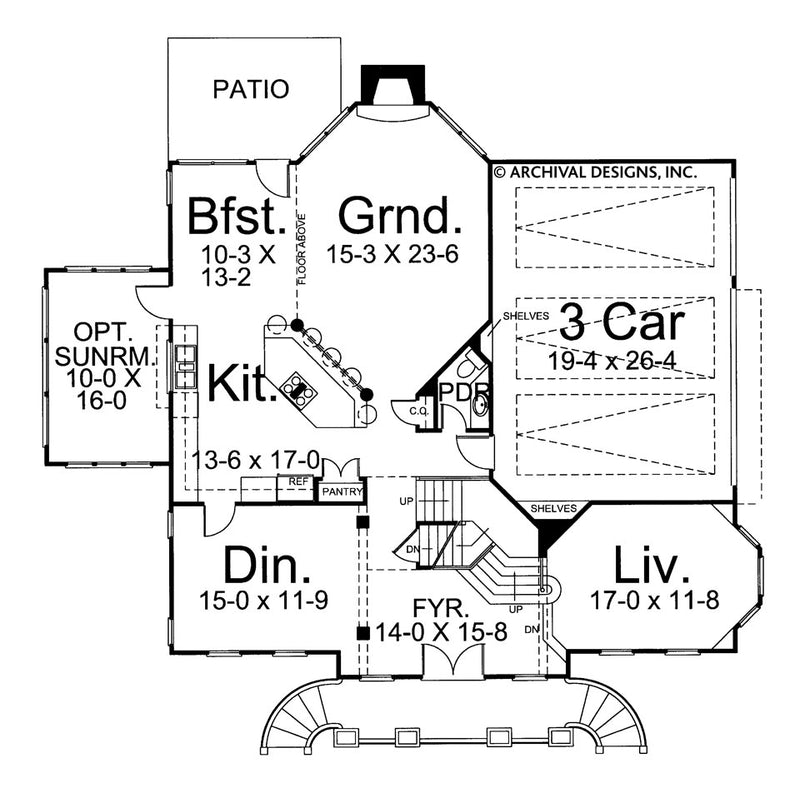 Regent first floor, floor plan