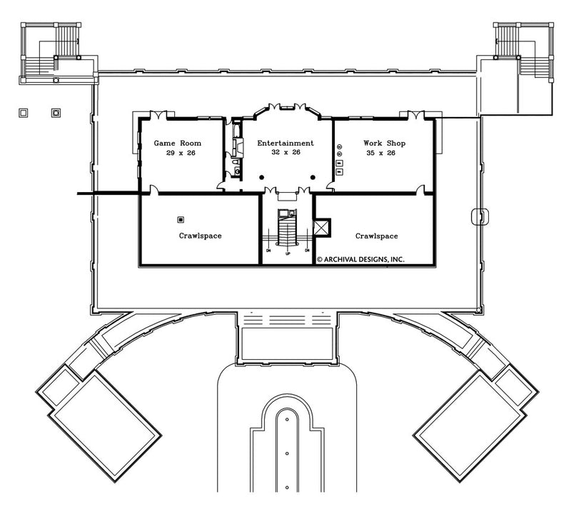 Rhienbeck basement floor plan