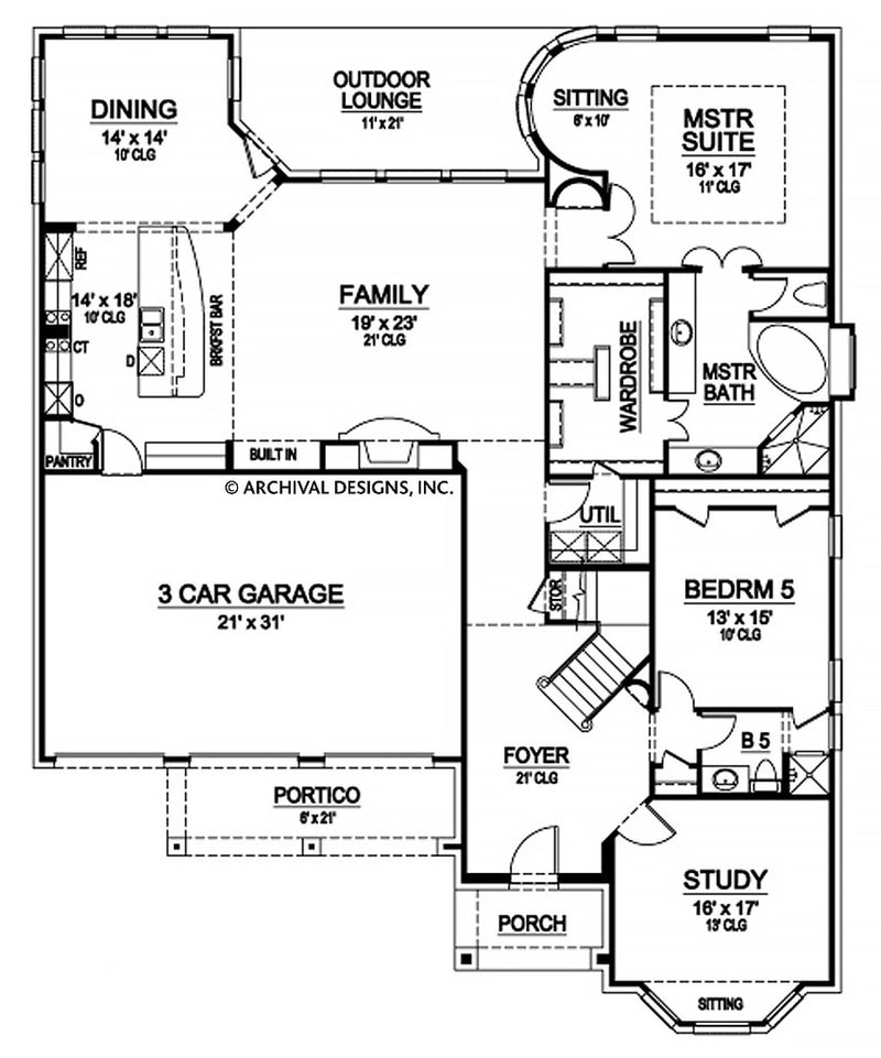 Richmond Grove first floor, floor plan