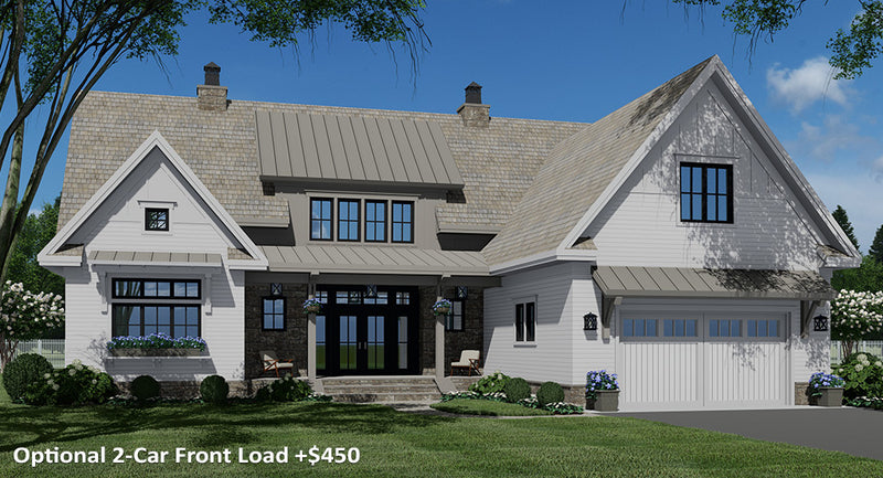 Rock Creek House | Optional 2-Car Front Load