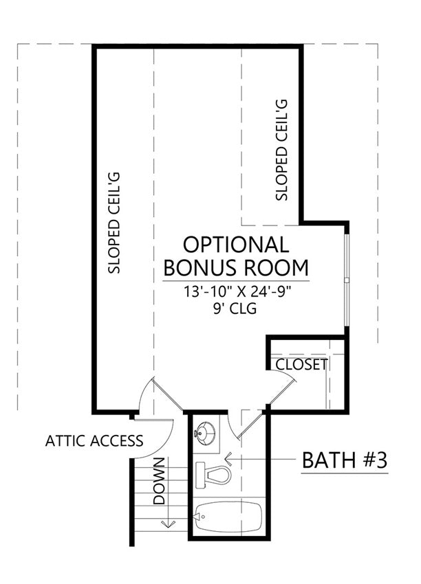 Rosewood House | Bonus Floor Plan