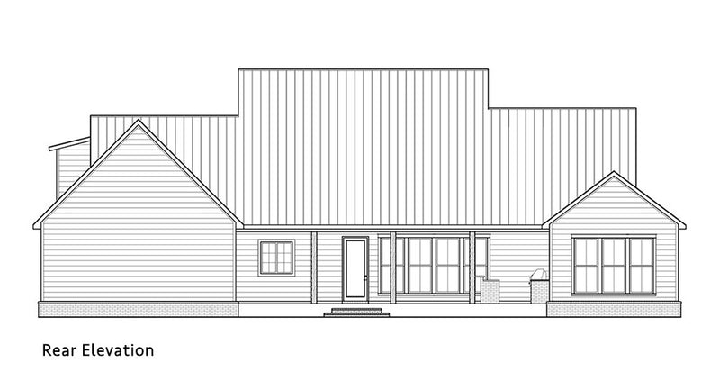 Rosewood House | Rear Elevation