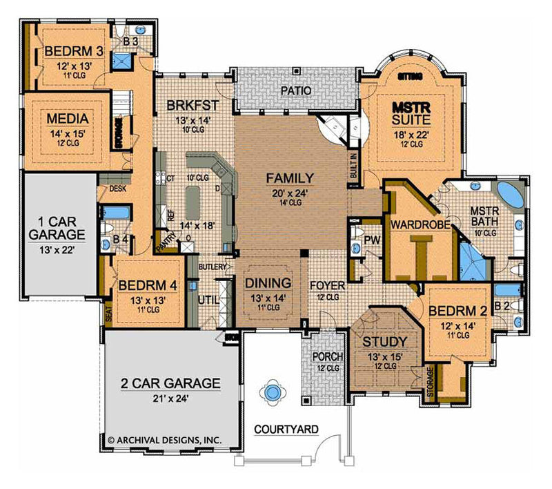 Royal County Down First floor. floor plan