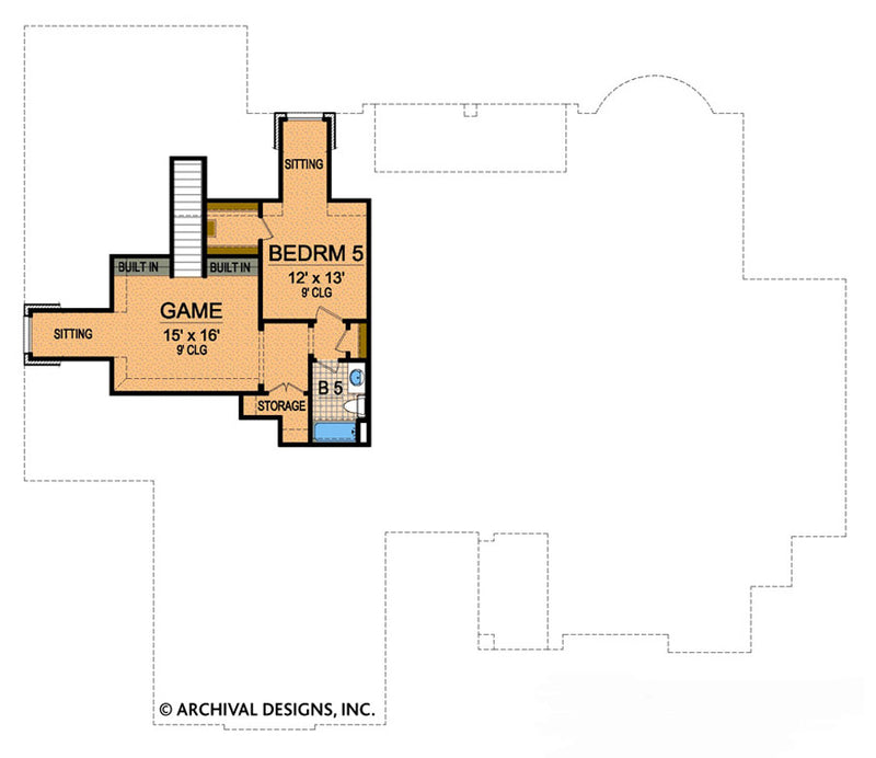 Royal County Down second floor , floor plan