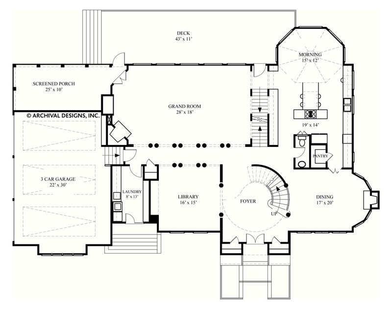 Rozonda first floor, floor plan