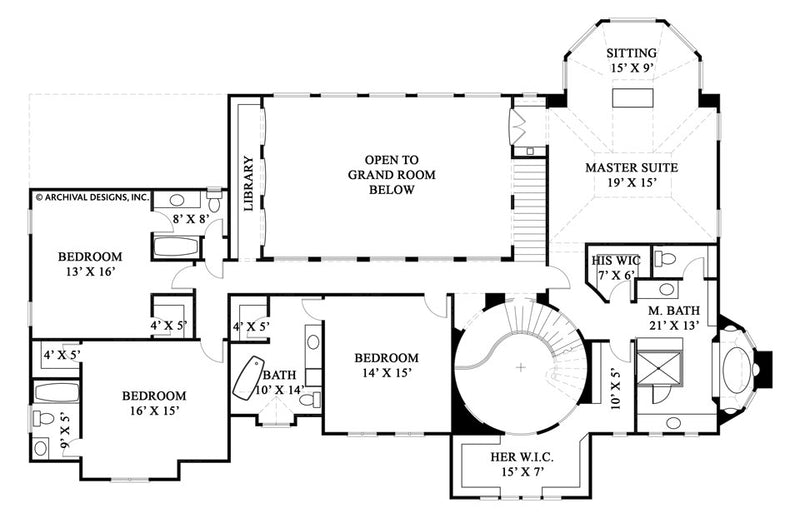 Rozonda second floor, floor plan