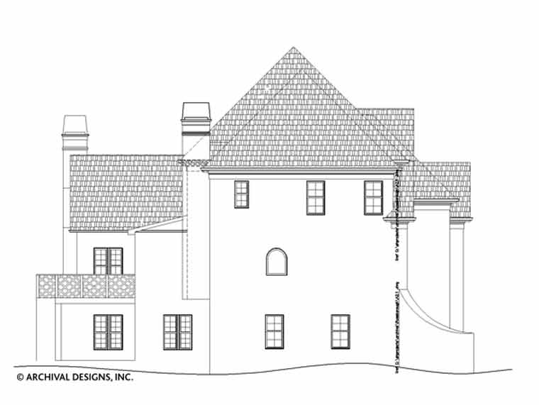 Russborough House Plan