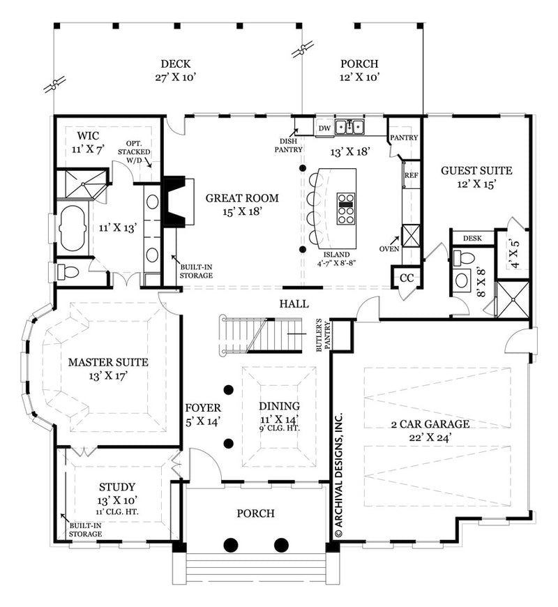 Ryefield first floor, floor plan