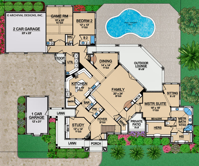 Stoneleigh Heights first floor, floor plan