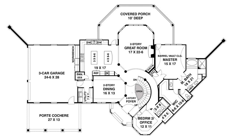 Salem Place first floor, floor plan