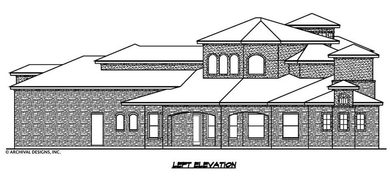 San Gimignano House Plan