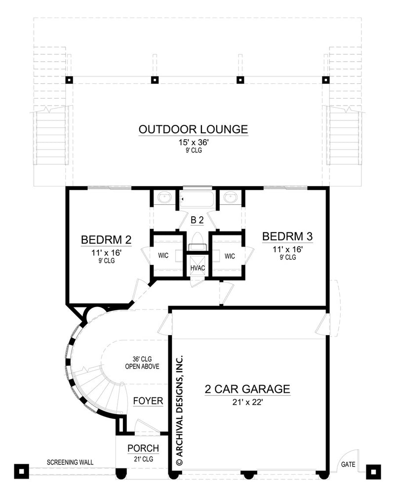 Saulsalito first floor, floor plan