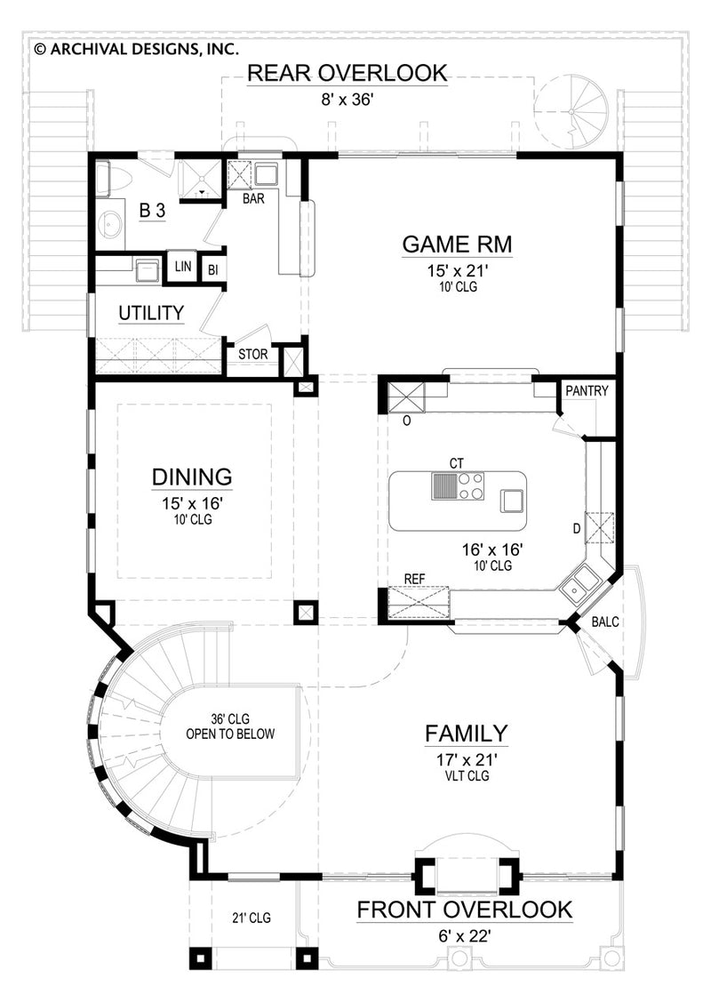 Saulsalito second floor, floor plan