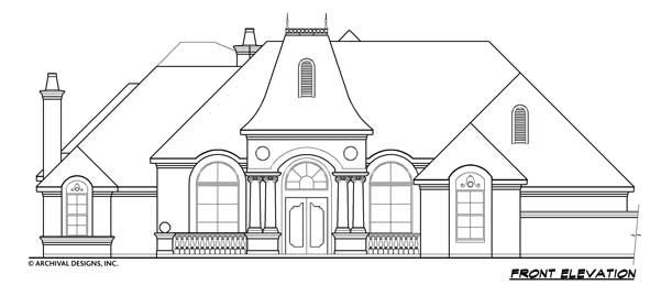 Scarborough House Plan