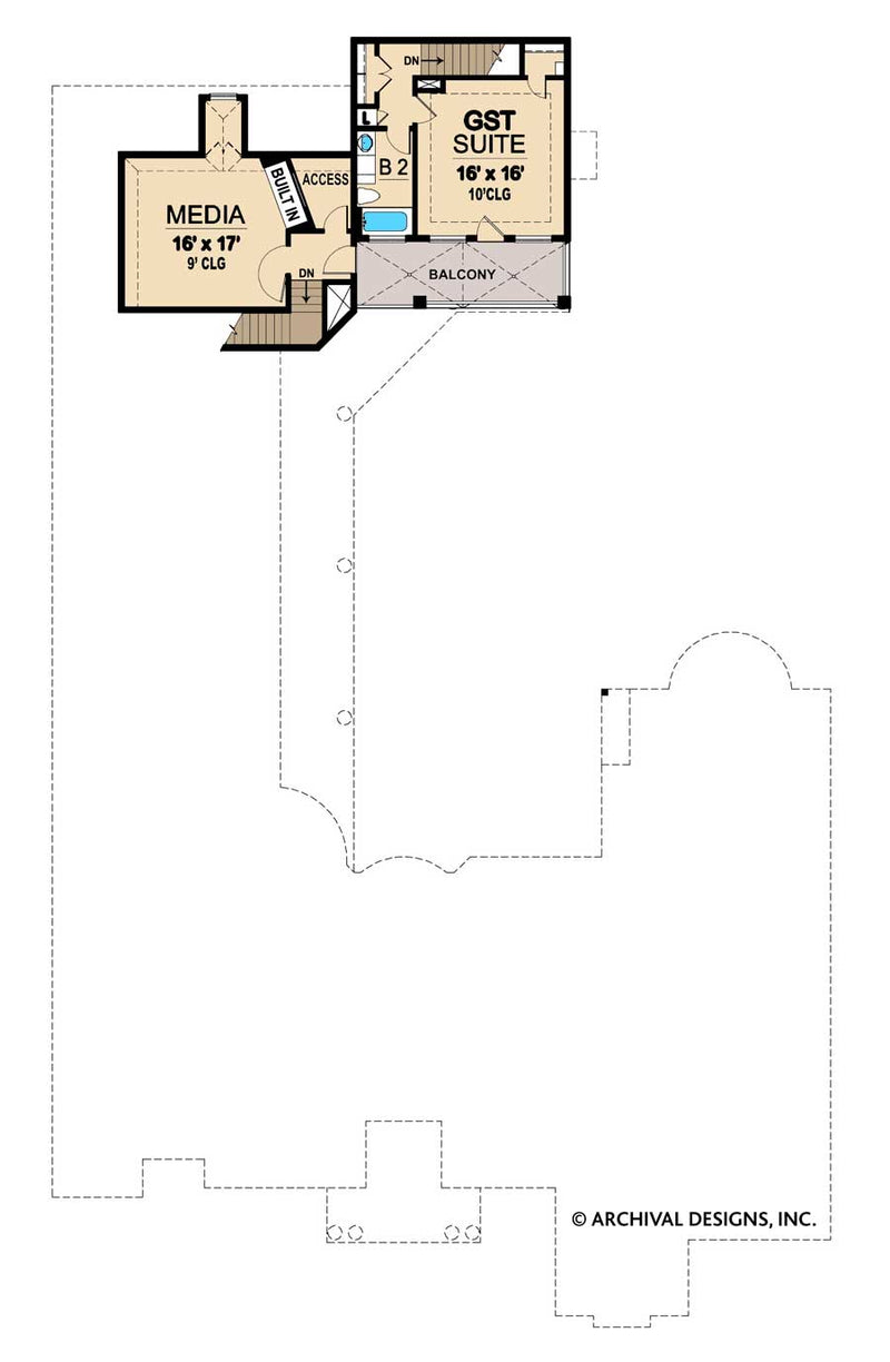 Scarborough second floor, floor plan