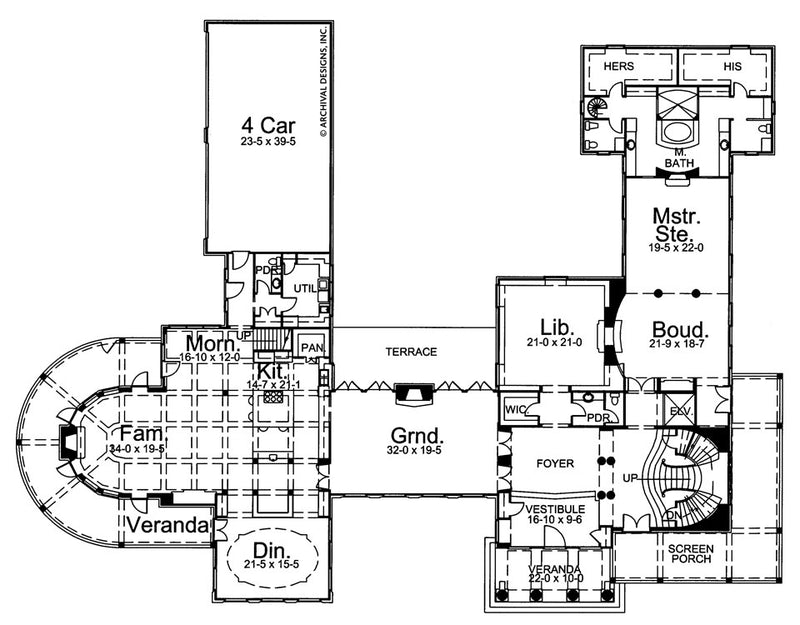 Shrewsbury  first floor, floor plan