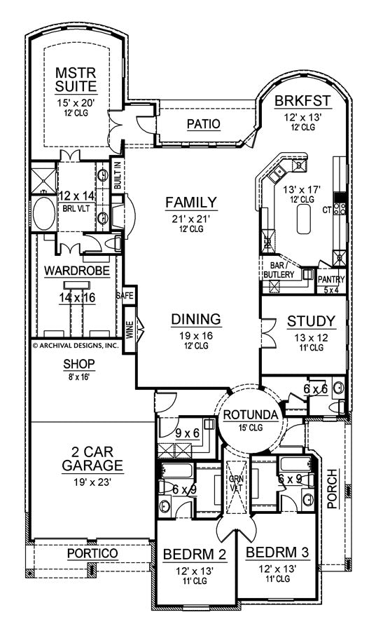 Solo Cresta first floor, floor plan